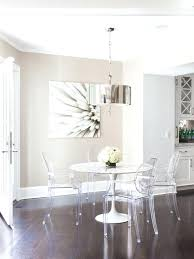 Dining Tables Nyc Dining Room Chairs Nyc Room A White Dining Table With Ghost Chairs