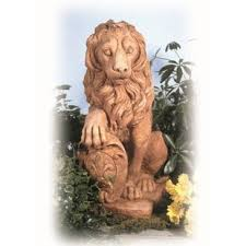 gold lion statues indoor lion statues wayfair