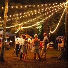 Patio Garden Lights 1x 25ft 7 5m G40 Globe String Light Vintage Patio Garden