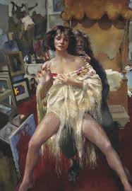 the painter the painter with benedikte robert lenkiewicz paintings and