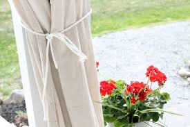 Outdoor Canvas Curtains 10 Drop Cloth Curtains Hometalk