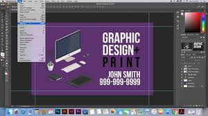 Design Business Cards Print At Home How To Print Business Cards At Home Youtube