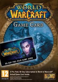 world of warcraft time cards expansion cataclysm pc key