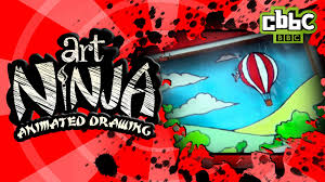 cbbc art ninja how to animate your drawings youtube