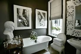 black grey and white bathroom ideas black and white bathrooms ideas homes gallery
