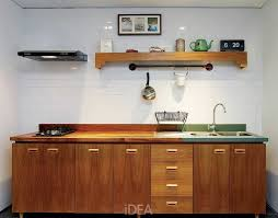 Kitchen Set Aluminium Gambar Kitchen Set Sederhana Dapur Minimalis Idaman Pinterest