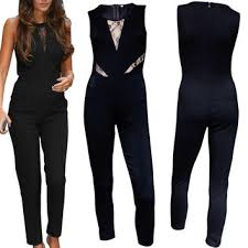 black jumpsuit womens rompers womens jumpsuit black stretch from bling bling deals 15