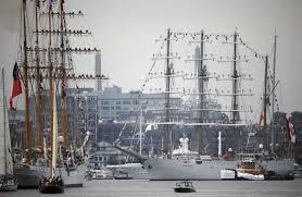 photos tall ships return to boston the artery