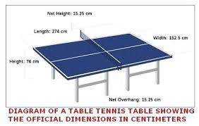 ping pong table cost make a ping pong table the standard size of a ping pong table