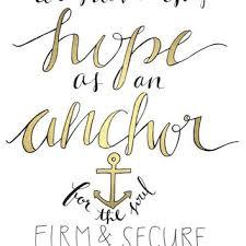 5x7 Love Anchors The Soul - shop anchor verse on wanelo