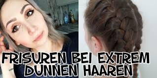 Frisuren D Ne Haare Frau by Test Frisuren Bei Extrem Dünnen Haaren Frisuren Getestet