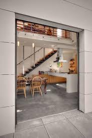 basement flooring options concrete dining room industrial