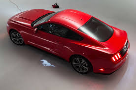ferrari horse vs mustang horse 2015 ford mustang 5 0 red from above lights on ford mustang