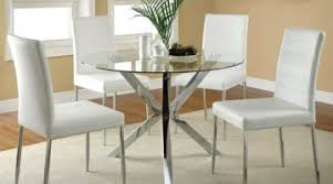 how to make a glass table how to make extraordinary glass dining table with white leather