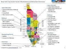 detailed map of new york detailed map of manhattan ny new york city and subway