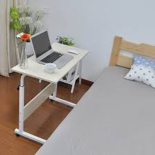 Computer Stand For Desk Sit Stand Adjustable Height Three Monitor Computer Keyboard For