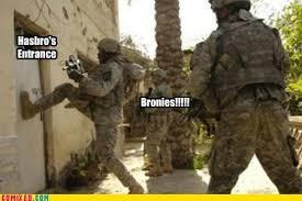 Bronies Meme - image bronies at hasbro s door meme jpg my little pony