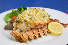 lobster stuffed with crab imperial the perfect date night dinner