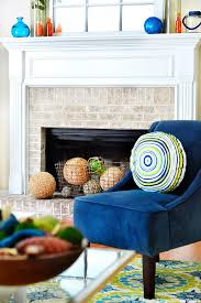 Blue Accent Chair Navy Blue Accent Chair With Pillow Best Coordinate Navy Blue
