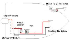 on board battery charging system for 2nd 12v battery suits minn