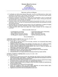 Treasurer Resume Download Vp Finance Cfo Early Stage Saas In New York Ny Resume