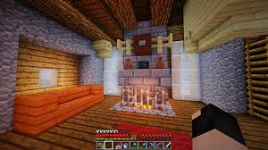 fancy moose head mounted above my fireplace minecraft