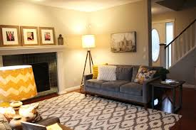 grey and gold living room home design