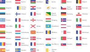 Flags Of Countries In Europe Takeaway Roaming Plan Roaming Charges Id Mobile Network