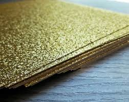 Paper For Invitations Gold Scrapbook Paper Etsy