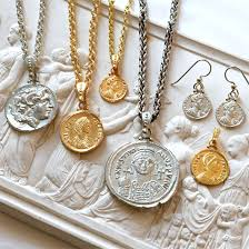 coin jewelry necklace images Ancient coin jewelry jpg