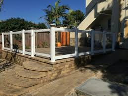 Glass Patio Fencing K Star Vinyl Fencing Glass Fencing