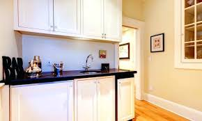 painting white melamine kitchen cabinets with oak trim pros