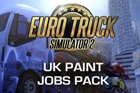 euro truck simulator 2 uk paint job pack excalibur