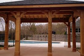 deck pergola and porch designs for pools st louis decks poolside covered patio st louis mo by archadeck
