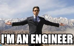 Engineer Meme - i m an engineer iron man meme on memegen