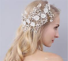 hair accessories nz vintage wedding bridal rhinestone headband ribbon flower headpiece