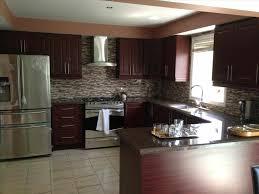 with dark cabinet and ceramic floor cabinets contemporary dark cabinets white granite dark kitchen cabinets ideas elegant design for you cream elegant kitchen backsplash