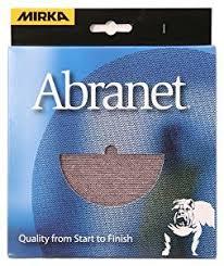 Corian Sanding Pads Mirka 9a 232 Aprp 5 Inch Abranet Assortment Pack 1 Each P80