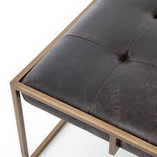 coffee tables breathtaking streamer trunk leather coffee table