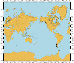 Generic Mapping Tools Geography Where To Find An Accurate Mercator Projection World
