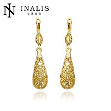 gold earrings tops india style gold ear tops designs for bridalsmaid lkn18krgpe345