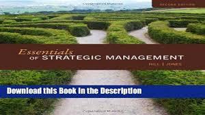 download pdf essentials of strategic management new book video