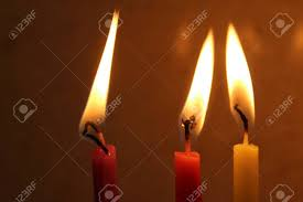 chanukah candles colorful chanukah candles lit in the menorah colorful hanukkah