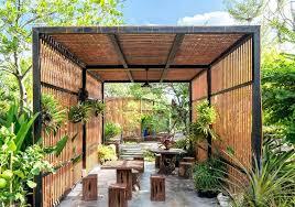 Pergola Garden Ideas Modern Pergolas Design View In Gallery Gorgeous Pergola With A