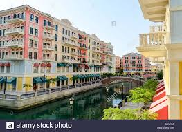 Qanat Quartier A Venice Like Residential District In Doha Qatar