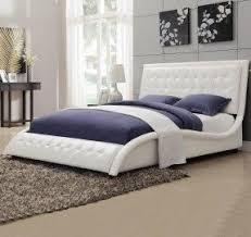 King Upholstered Platform Bed King Size Bed Frame With Headboard Visualizeus