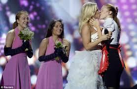 Lesbian Porn Meme - eurovision 2013 finnish entrant krista siegfrids stokes