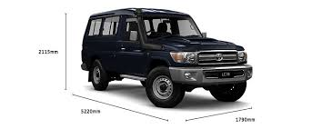 weight of toyota land cruiser troop carrier gxl specifications lc 70 toyota australia