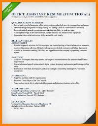 Resume Functional Skills 12 Summary Of Skills Resume Sample Apgar Score Chart