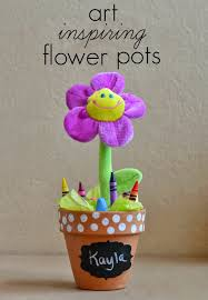 mommy testers diy crayon u0026 sidewalk chalk flower pots for kids